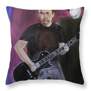 Guitar Dude  Throw Pillow