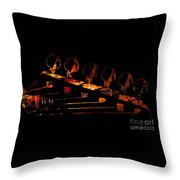 Guitar Head Throw Pillow