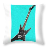 Guitar Throw Pillow