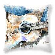 Guitar Riffs... Throw Pillow