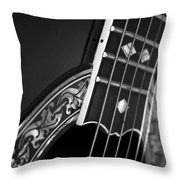 Guitar4 Throw Pillow