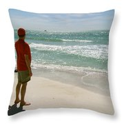 Gulf Dreams Throw Pillow