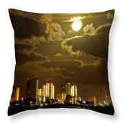 Gulf Shores Night Skys Throw Pillow