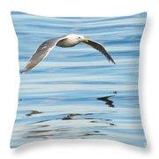 Gull Mirrored Throw Pillow