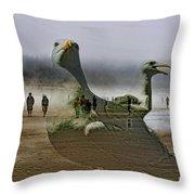 Gulls Dream Throw Pillow