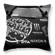 Gumball Rally Lamborghini Throw Pillow