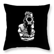 Gunman T-shirt Throw Pillow