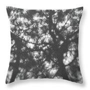 Gunmetal Grey Shadows -  Throw Pillow