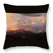 Gunnison Sunset Throw Pillow