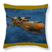 Gunship Throw Pillow