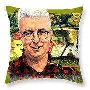 Gurney Godfrey Throw Pillow