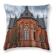 Gustav Adolf Church Facade Throw Pillow