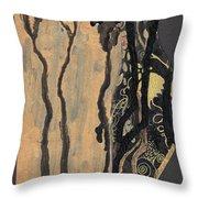 Gustav Klimt's Tears Throw Pillow