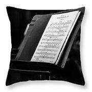 Gustav Mahler Symphony No 1 Throw Pillow