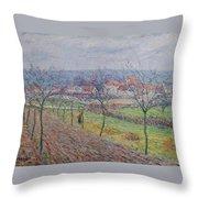 Gustave Loiseau 1865 - 1935 Big Spring Landscape Throw Pillow