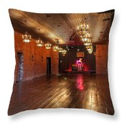 Guthrie Dance Hall  Throw Pillow