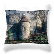 Guttenberg Castle Throw Pillow