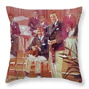 Guy Lombardo The Royal Canadians Throw Pillow