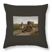 Gypsies Throw Pillow