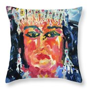 Gypsy Afternoon Throw Pillow