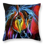 Gypsy Equine Throw Pillow