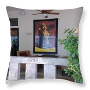 Gypsy Lady Throw Pillow