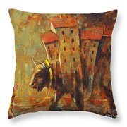 Gypsy Life Throw Pillow