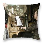 Gypsy Music Throw Pillow