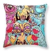 Gypsy Owl Throw Pillow