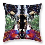 Gypsy Stalker Throw Pillow
