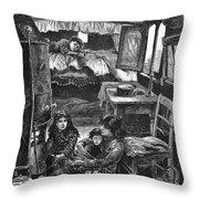 Gypsy Wagon, 1879 Throw Pillow