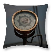 Gyro Compass Repeater Throw Pillow