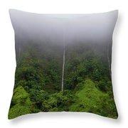 H-3 Waterfalls Throw Pillow