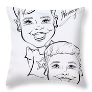 H A Throw Pillow