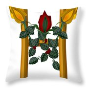 H Is For Hope Throw Pillow