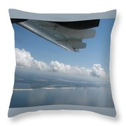 H144 And Clouds Throw Pillow