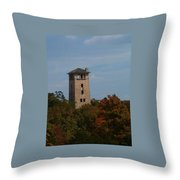 Ha Ha Tonka Water Tower Throw Pillow