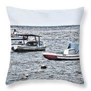 Habana Ocean Ride Throw Pillow