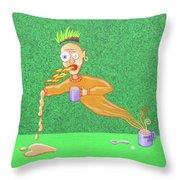 Habanero Milk Throw Pillow