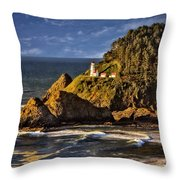 Haceta Head Light 2 Throw Pillow