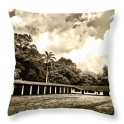 Hacienda La Elvira Throw Pillow