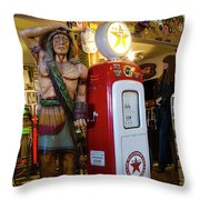 Hackberry Route 66 Arizona Throw Pillow