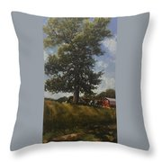 Hackberry Shade Throw Pillow