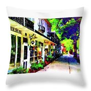 Haddonfield Tanner Street Throw Pillow
