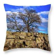Hadrians Tree Throw Pillow