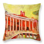Hadrian's Villa Throw Pillow