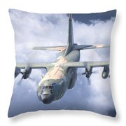 Haf C-130 Hercules Throw Pillow