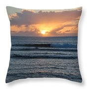 Hagatna Bay Sunset Throw Pillow