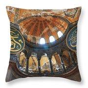 Hagia Sophia Dome Throw Pillow