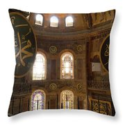 Hagia Sophia Interior Throw Pillow